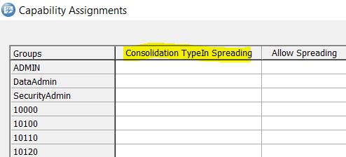 Consolidation TypeIn Spreading