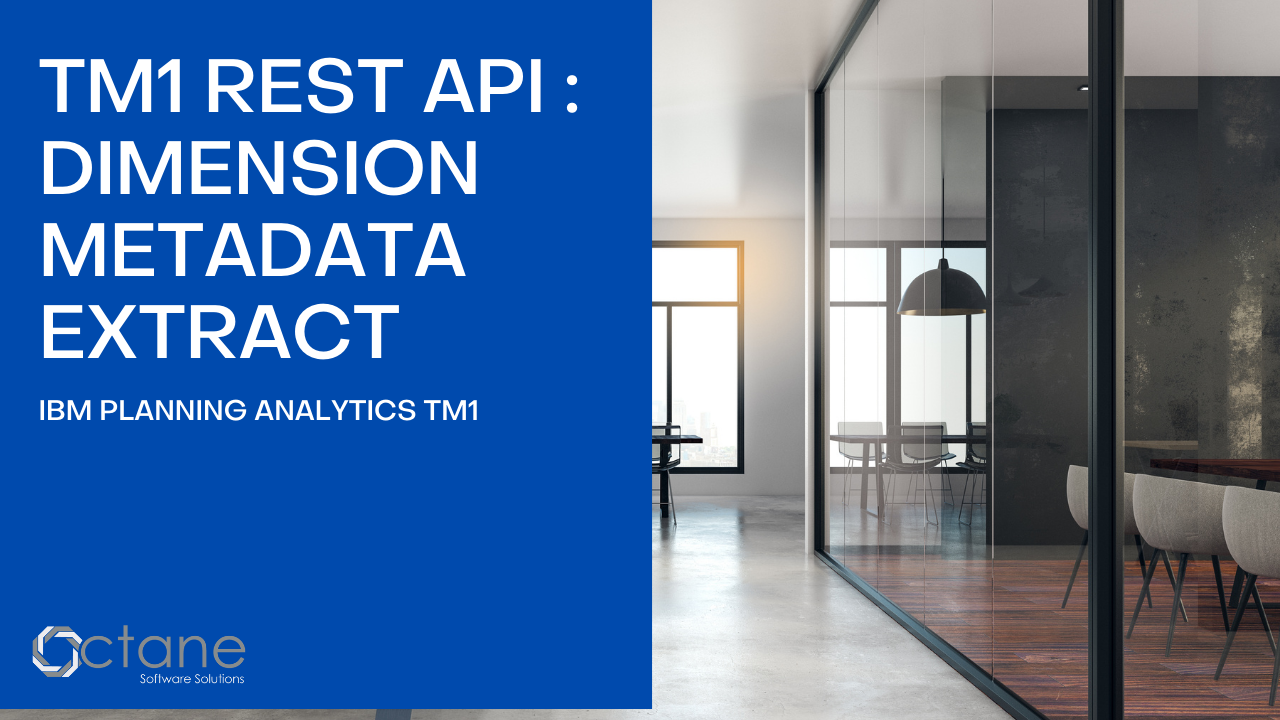 TM1 Rest API: Dimensions Metadata Extract
